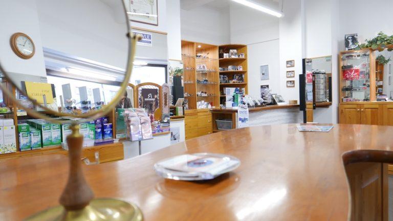 Prodejna Sladkovského v Pardubicích.